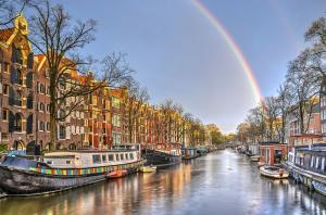 Amsterdam After The Rain